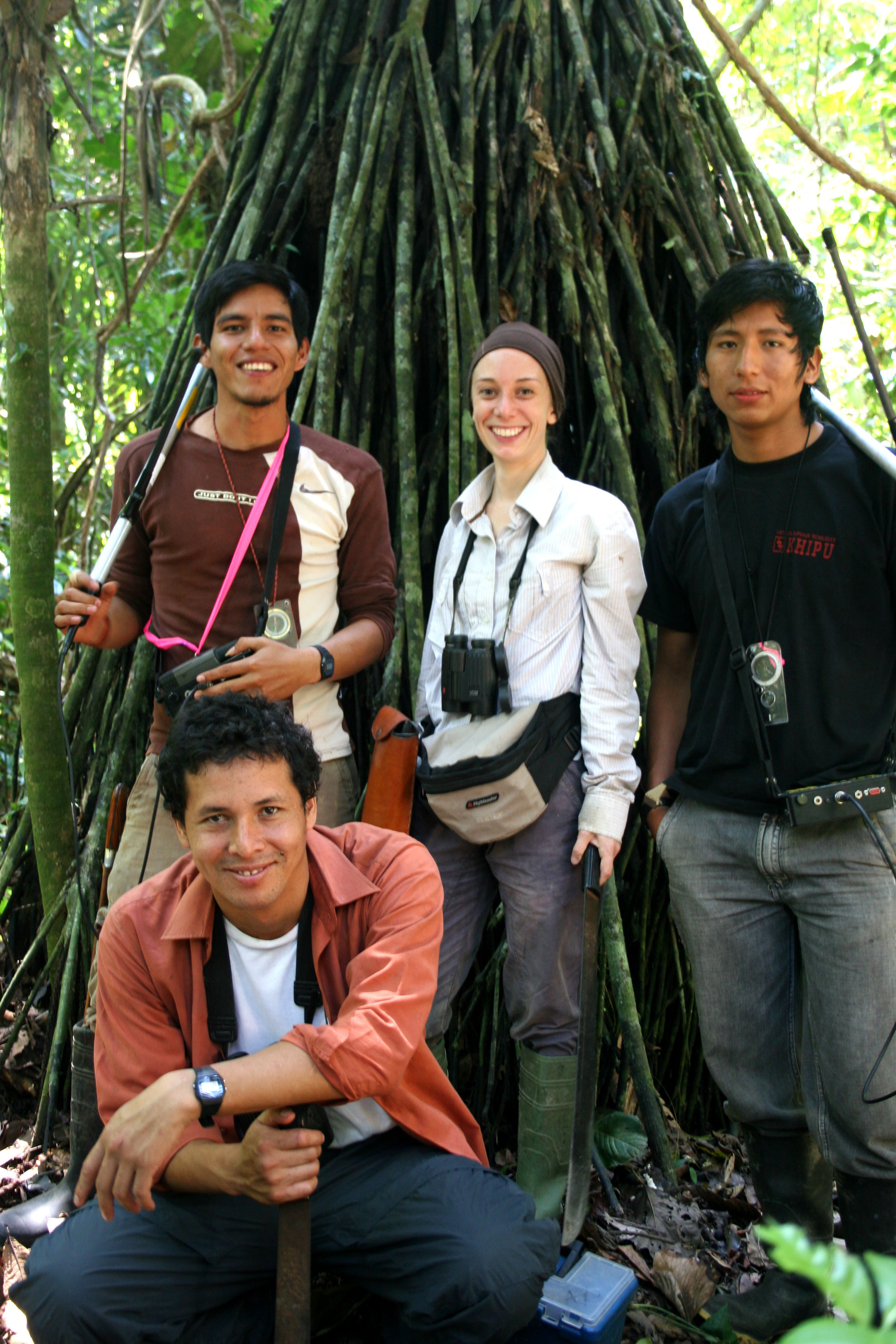 Amazon antbird workers 2009